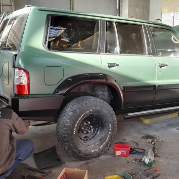 NISSAN PATROL OFF-ROAD 9