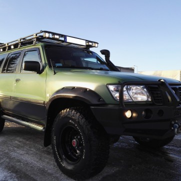 NISSAN PATROL OFF-ROAD 7